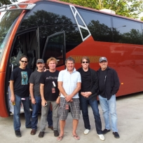 George Thorogood and the Destroyers.  Our driver is Buzz wearing the shorts.
